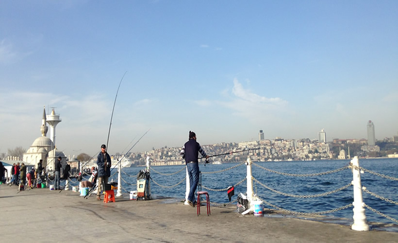 Bosphorus Cruise Catch Your Fish at Uskudar