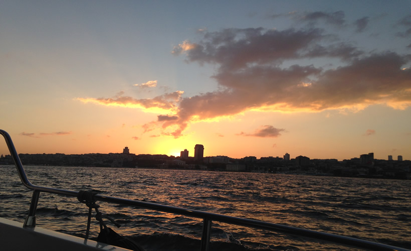 Bosphorus Cruise Tour Sunset