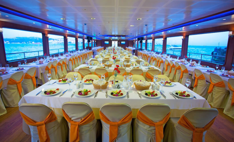 Dinner Cruise on Bosphorus Istanbul