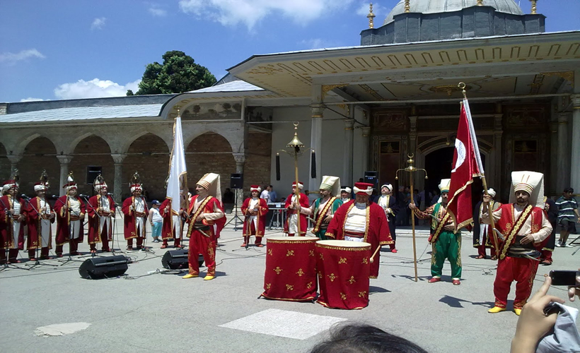 Topkapi Palace Mehter Team Package Tours Turkey