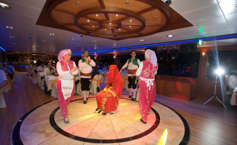 Turkish Night Show & Dinner Cruise On Bosphorus