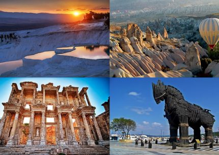 Gallipoli Troy Pergamon Ephesus Pamukkale and Cappadocia Package Tour