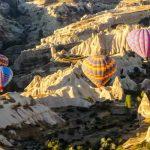 Hot Air Ballon Tour in Cappadocia Turkey