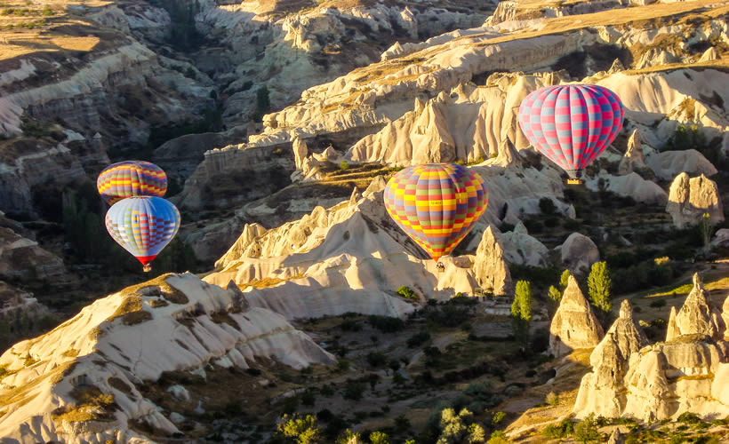 Hot Air Ballon Tour in Cappadocia Turkey