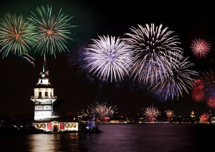 New Year Eve Party on Bosphorus Istanbul Turkey