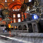 Santa Sophia Museum Istanbul Interior view Package Tours Turkey