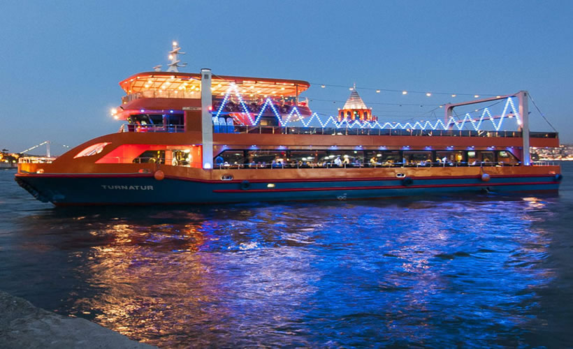 Turkish Night Show and Dinner 1001 Nights tour Dinner Cruise