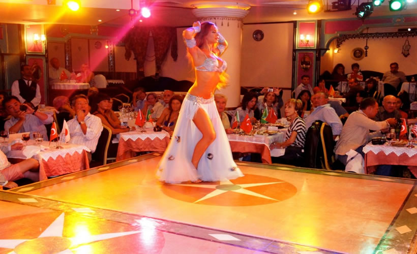 Turkish Night Show in Istanbul Turkey