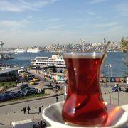 Turkish Tea and Bosphorus