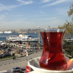 Turkish Tea and Uskudar