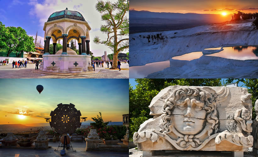 10 DAYS PACKAGE Tours OF TURKEY