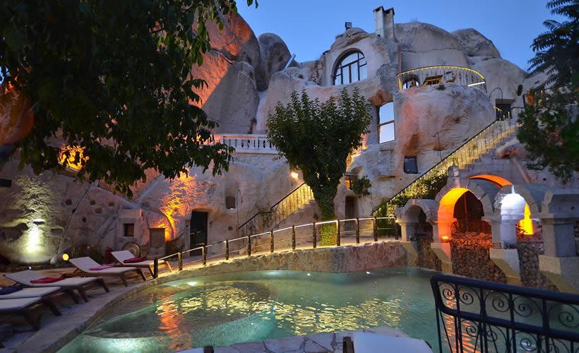 Cave hotels in Cappadocia Turkey 3