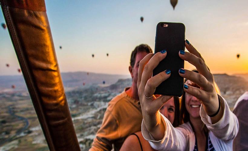 Hot Air Balloon Flight Tours in Cappadocia