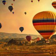 Hot Air Balloon Flight in Cappadocia Turkey