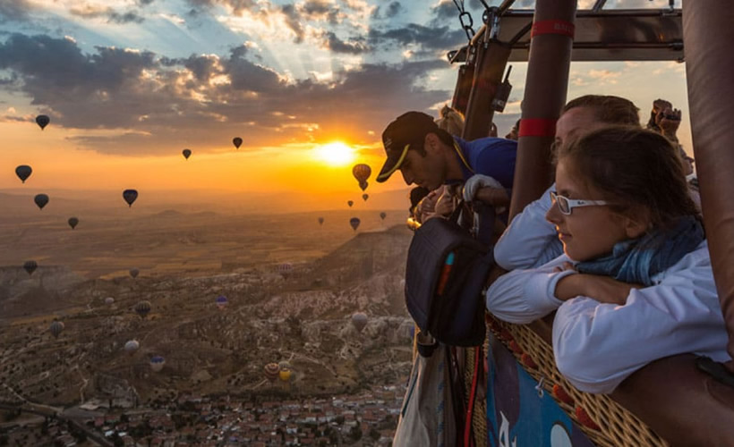 Hot Air Balloon Tour in Cappadocia Turkey 2