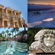 Pamukkale and Ephesus Tour by Plane